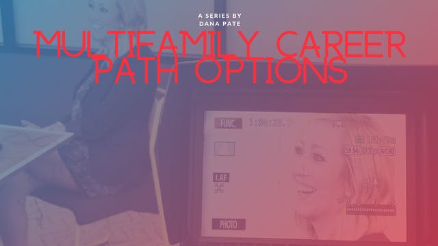 Multifamily Career Path Options