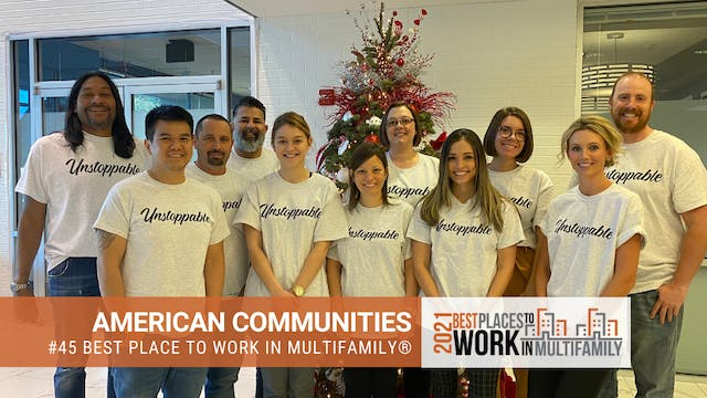 #45 Best Places to Work Multifamily® ...
