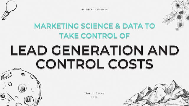 Marketing Science & Data to Take Cont...