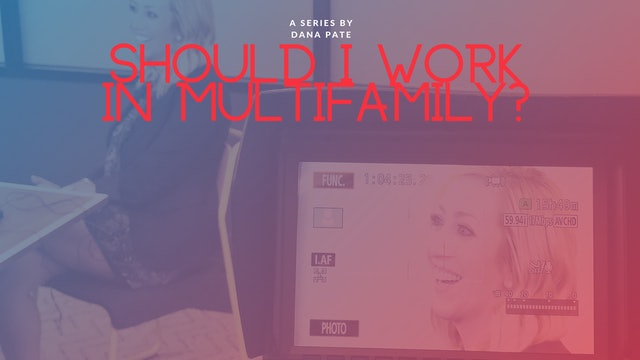 Should I Work in Multifamily?