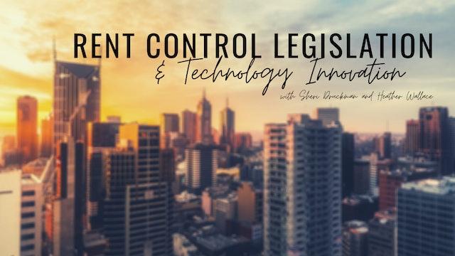 Rent Control Legislation and Technology Innovation