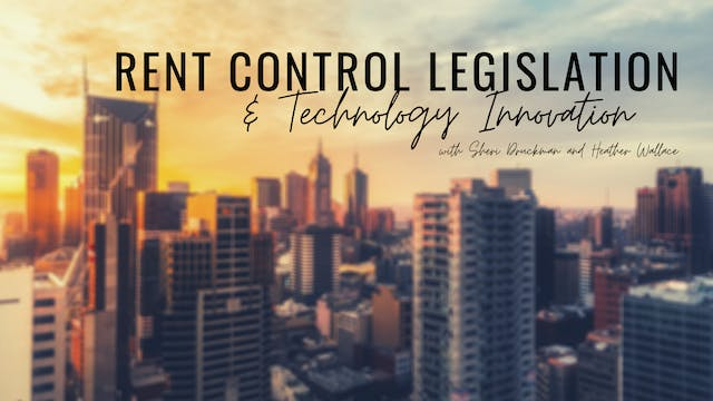 Rent Control Legislation and Technolo...