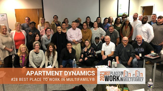 #28 Best Places to Work Multifamily® ...