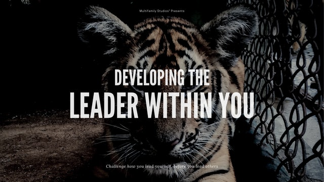 Opening Keynote- Developing the Leader Within You