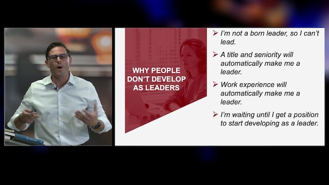 Why People Don't Develop as Leaders with Jason Stoughton