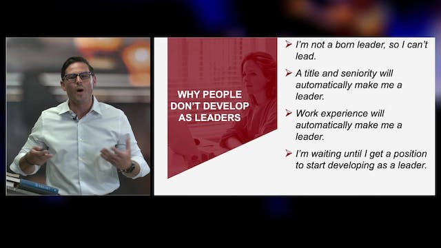 Why People Don't Develop as Leaders w...