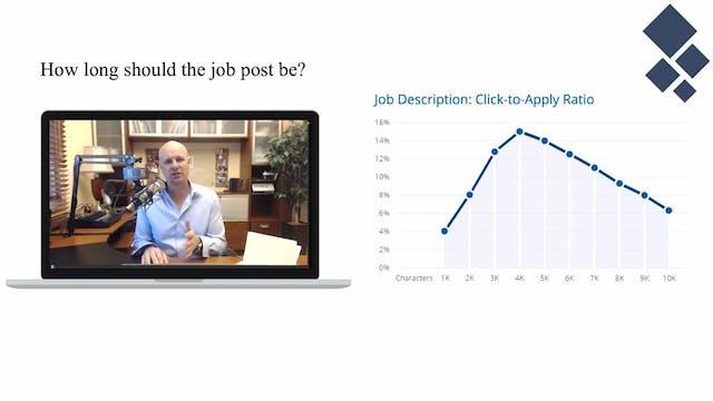 Job Post Data on Apply Rates