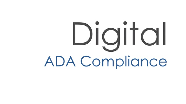 What every Multifamily operator needs to know about ADA compliant websites.