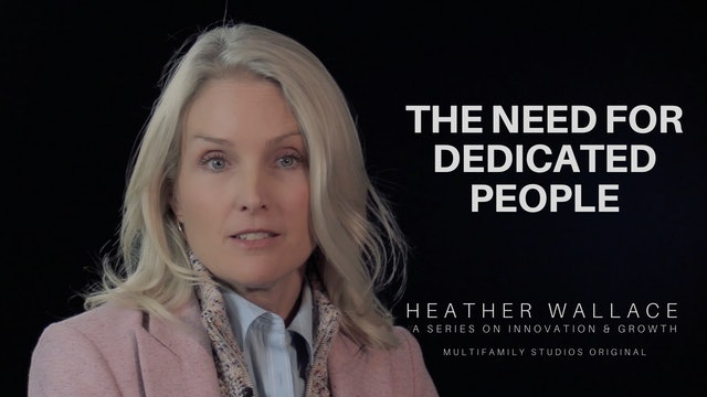 The Need for Dedicated People
