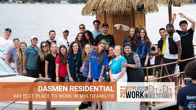 #43 Best Places to Work Multifamily® ...