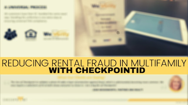 Reducing Rental Fraud in Multifamily with CheckpointID