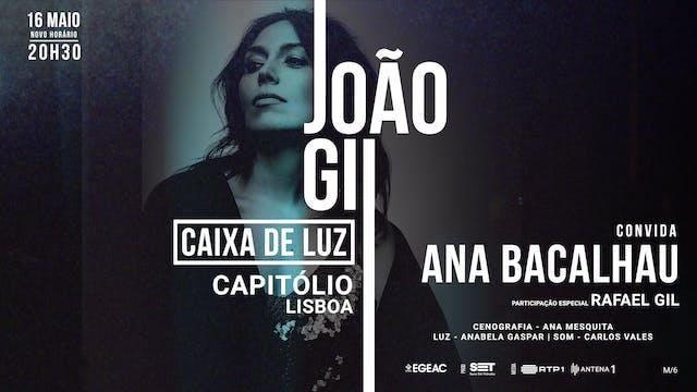Caixa de Luz - João Gil with Ana Bacalhau