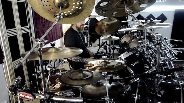 Trym Torson - Drum Cam Rehearsal Thus...