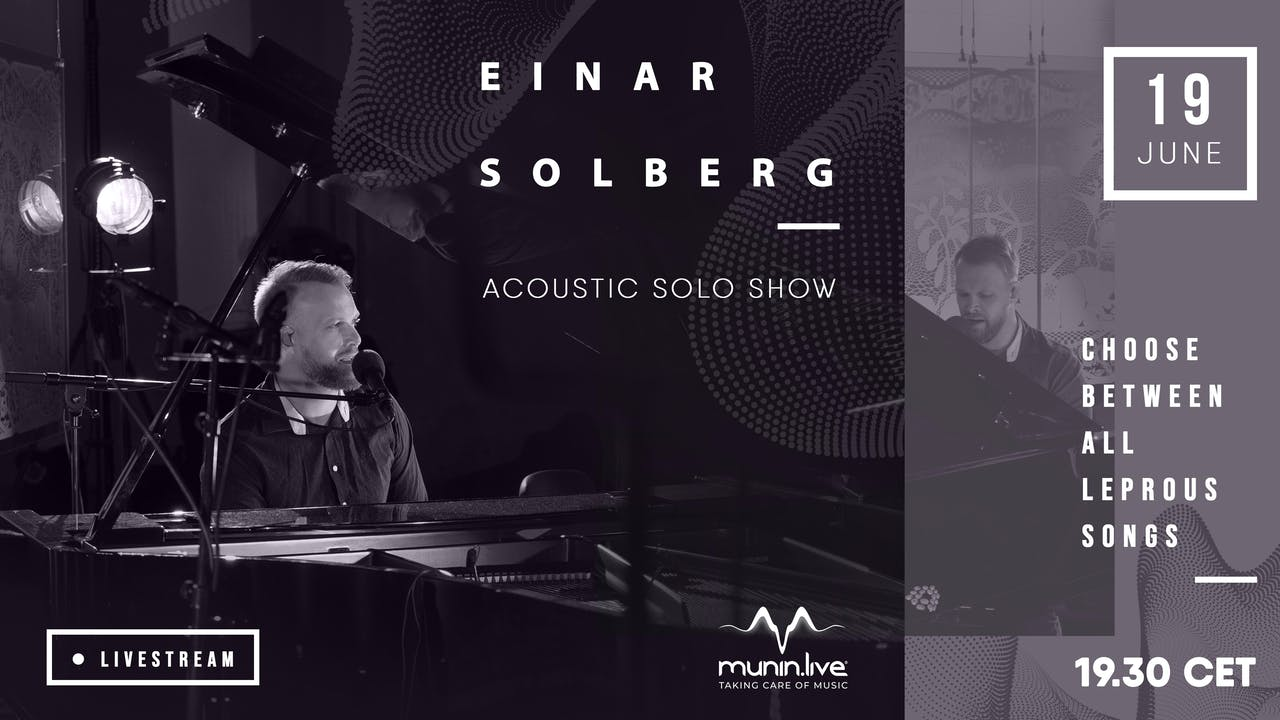 Einar Solberg: Acoustic solo show