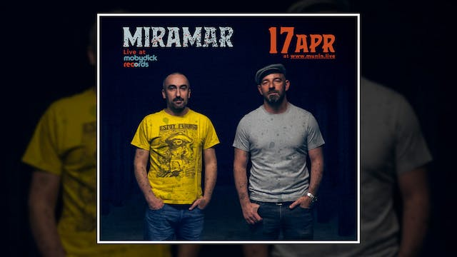 Miramar - Live at Mobydick records