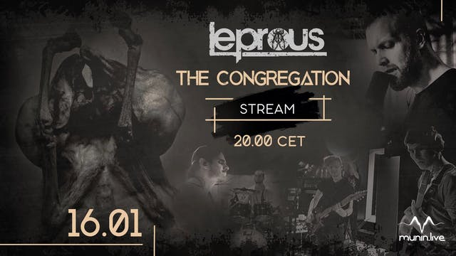 Leprous - The Congregation - Poster / Ad