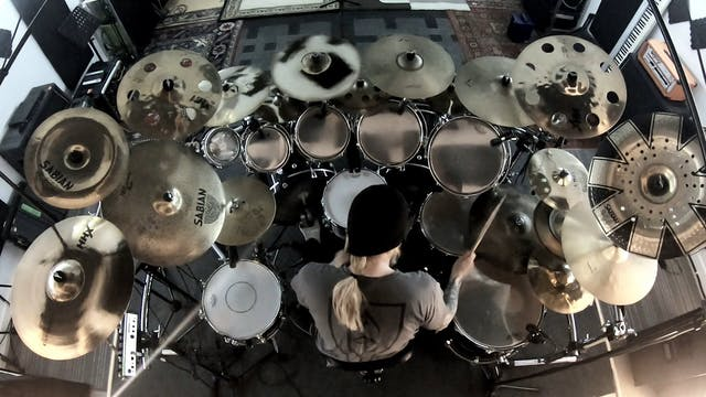 Trym Torson - Ensorcelled drumcam reh...