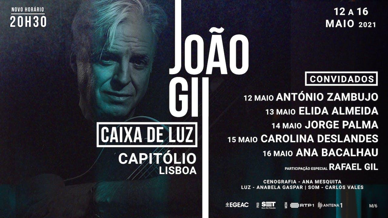 João Gil presents Caixa de Luz with guests