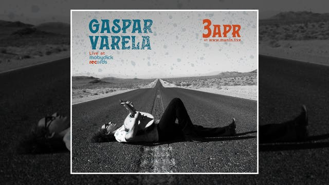 Gaspar Varela - Live at Mobydick reco...