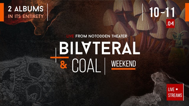 Leprous - Bilateral / Coal / Encore, Live Stream