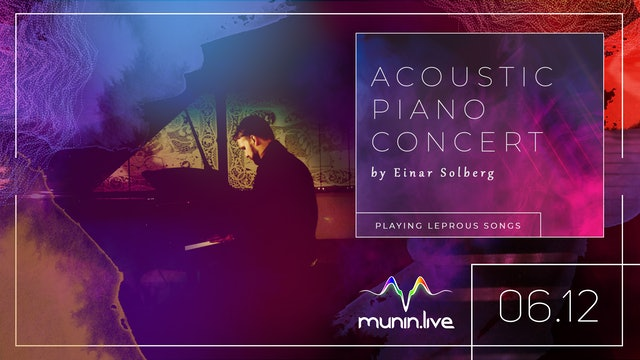 Piano and Vocal concert with Einar Solberg