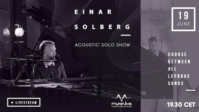 Einar Solberg: Acoustic solo show VIP