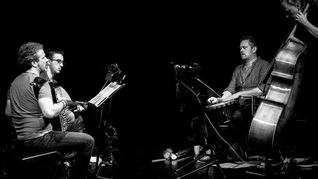 Jovan Pavlovic Trio feat. Ahmad Al Khatib: BONFIRE