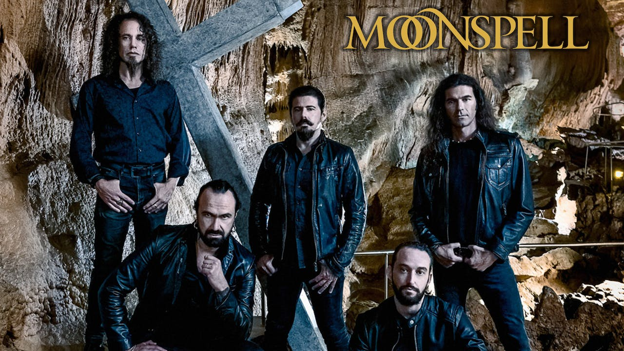 MOONSPELL - OFFICIAL HERMITAGE LAUNCH SHOW