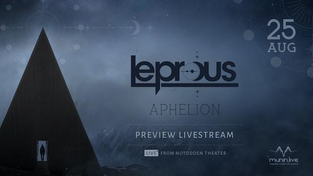 Aphelion Preview Livestream (US timezone)