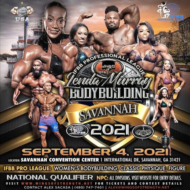Wings of Strength's IFBB Professional League Lenda Murray Savannah Pro-Am