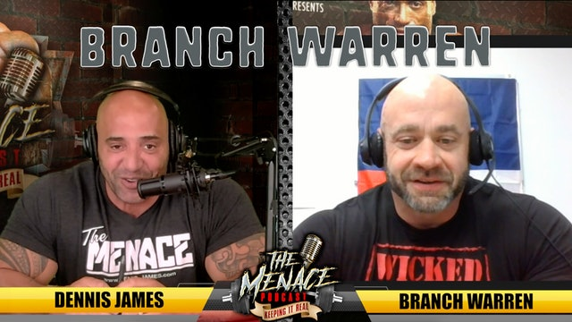 Branch-Warren on The Menace Podcast