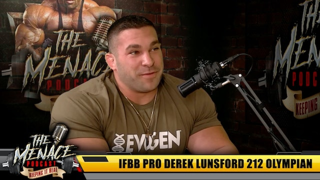 Derek Lunsford Hopes Change Will Help Him Win the 212 Olympia Title