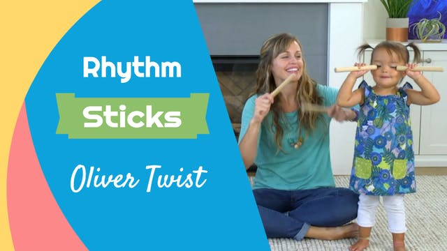 Oliver Twist- Rhythm Sticks