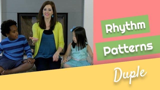 Rhythm Patterns- Duple