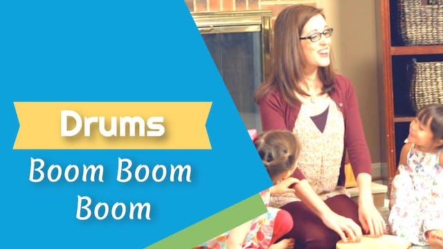 Boom Boom Boom- Drums
