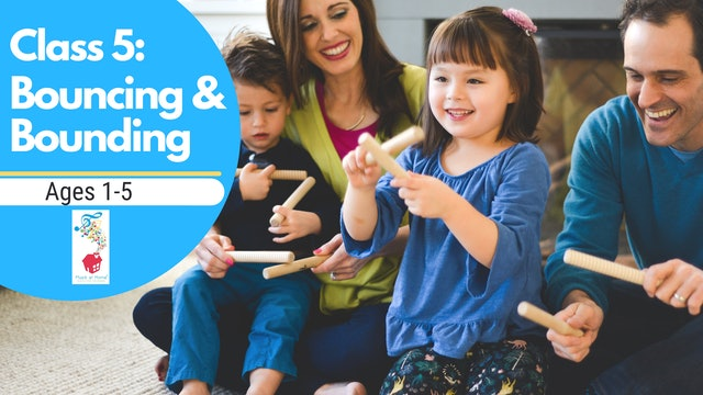 5. Family Music for Mixed Ages: Twist & Turn - Bouncing & Bounding