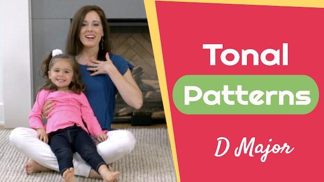 Tonal Patterns- D Major