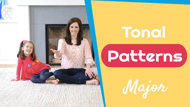 Tonal Patterns- Major