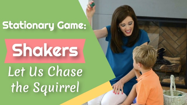 Let Us Chase the Squirrel- Stationary Game- Shakers