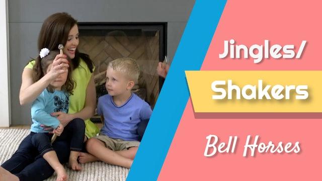 Bell Horses- Jingles or Shakers