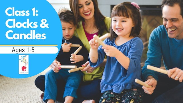 1. Family Music for Mixed Ages: Nimble & Quick - Clocks & Candles