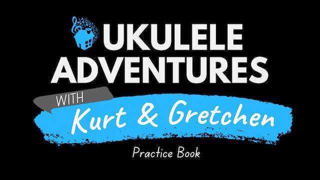 Ukulele Adventures Practice Book