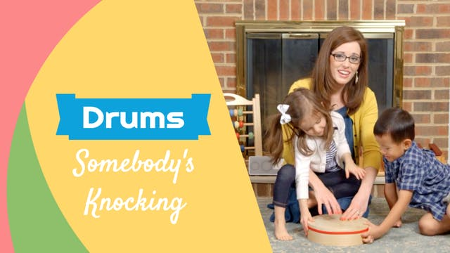 Somebody's Knocking- Drums