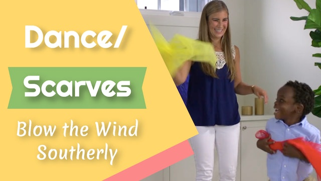 Blow the Wind Southerly- Dance/ Scarves