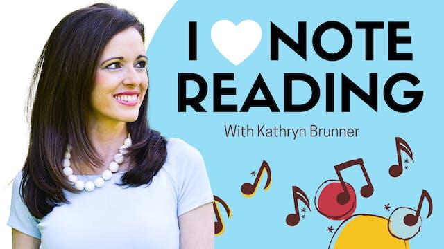 I Love Note Reading