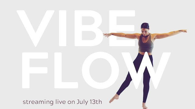 Live - Vibe Flow with KJ | $17 Drop In