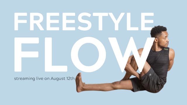 Live - Freestyle Flow with Randy Aaron   $17