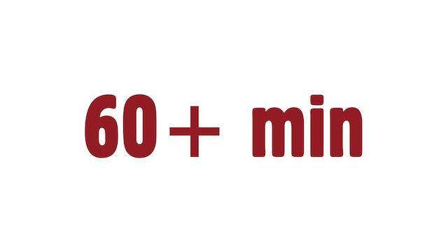 60+ min