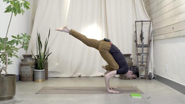 Arm Balances Part 2 with Matt   15 minutes
