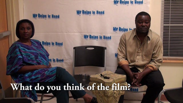 Queen Najla and Roger Parish Interview